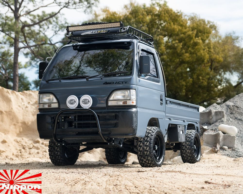 1994 Honda Acty Prime Time Nippon Imports In 2020 Mini Trucks Honda Concept Cars
