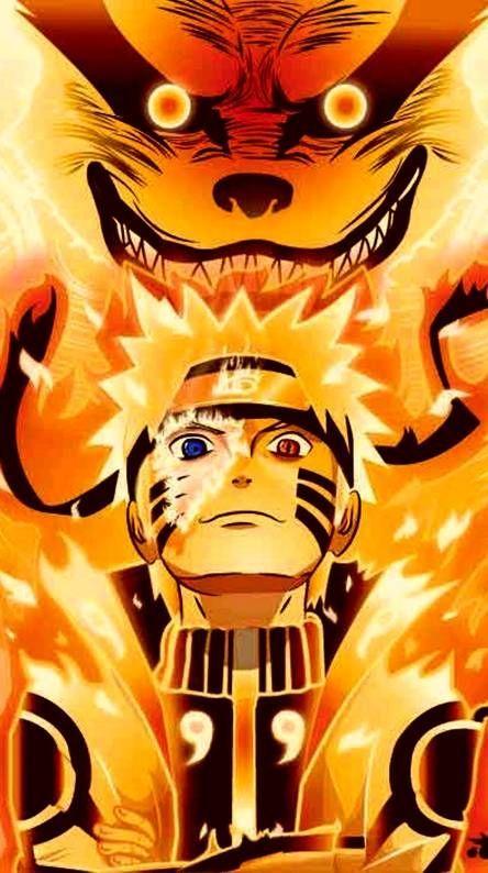 Naruto Shippuden  Anime Nine tail fox
