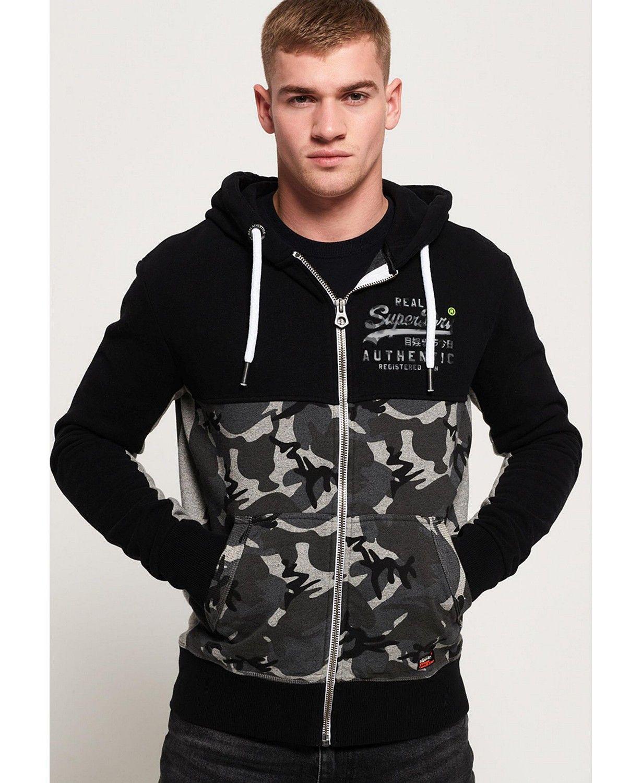 Superdry Vintage Like Logo Camo Zip Hoodie Reviews Hoodies Sweatshirts Men Macy S Hoodies Mens Sweatshirts Zip Hoodie [ 1500 x 1230 Pixel ]