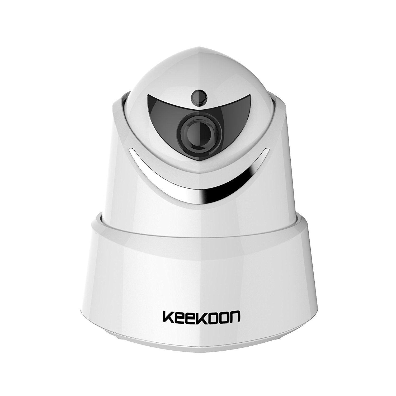 Keekoon 1080P Camera de Surveillance WiFi, Alarme Maison Sans Fil ...