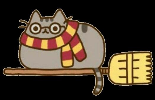 Discover The Coolest Cat Potter Harrypotter Harry Stickers Harry Potter Cat Pusheen Harry Potter Cute Harry Potter
