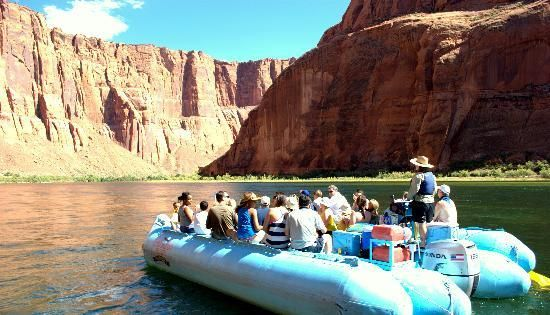 Colorado River Rafting Page
