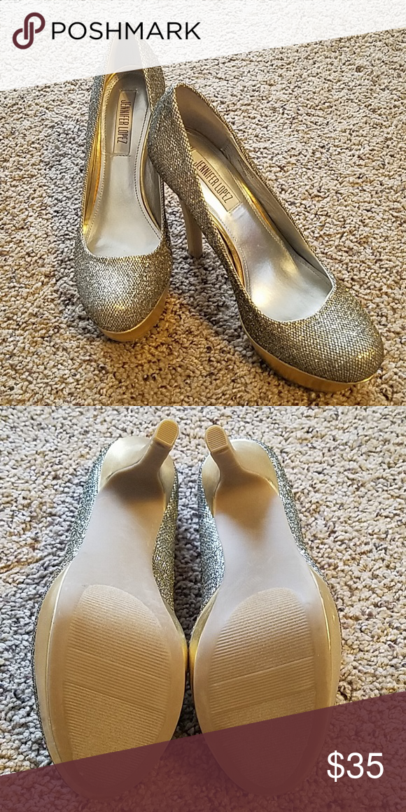 gold, silber, schwarz ♥ | My High Heel Creations | Gold