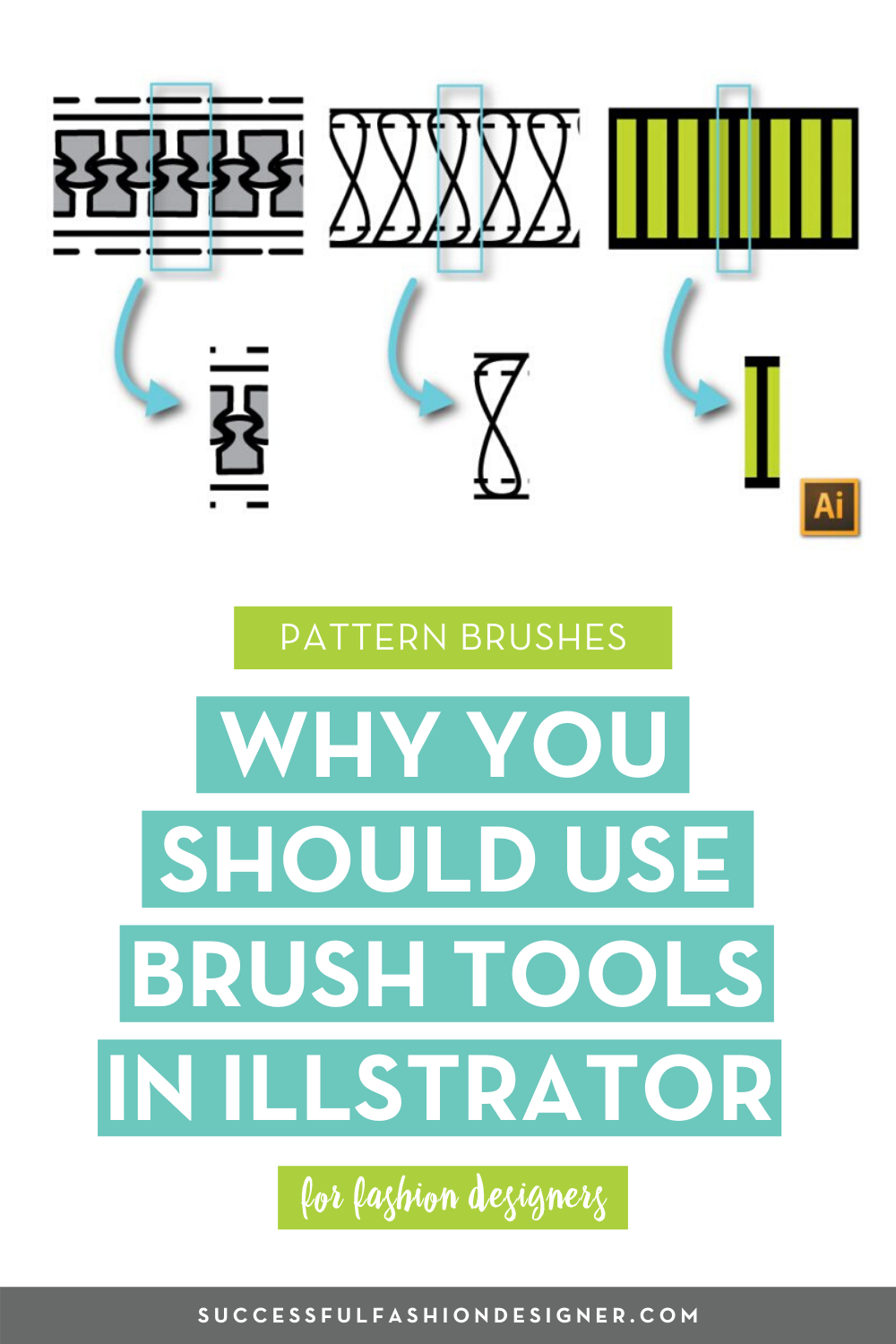 Why Should I Use Brushes In Illustrator Courses Free Tutorials On Adobe Illustrator Tech Packs Freelancing For Fashion Designers Fashion Design Portfolio Illustration Fashion Design Fashion Design Jobs
