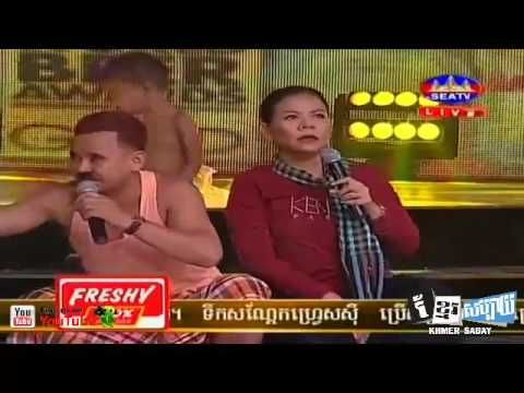 07 08 2016, Neay Khat Chomrouen Jokes, Khmer Comedy, SEATV, Ganzberg Con...