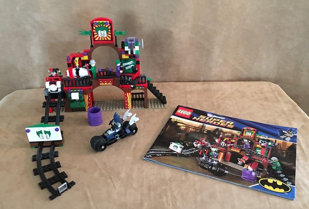 6857 Lego Complete Batman The Dynamic Duo Funhouse Escape Super Hero