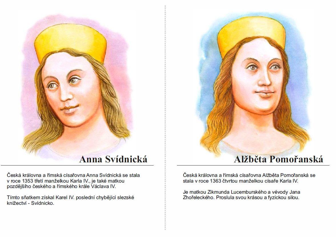 Anna Svídnická a Alžběta Pomořanská | History, School, Character