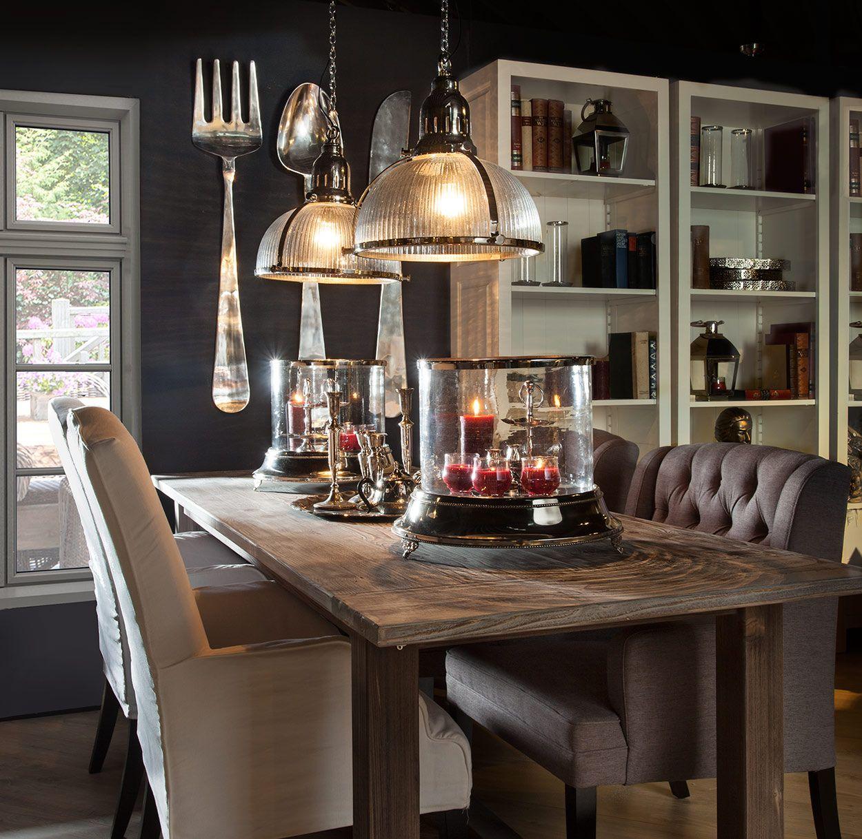 Landelijk klassieke eethoek rofra home landelijk for Interieur decoratie