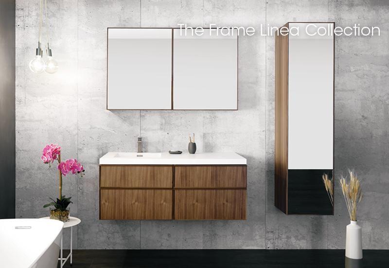 Frame Linea Collection Furniture Wetstyle Linen Cabinet Vanity Bathroom Furniture