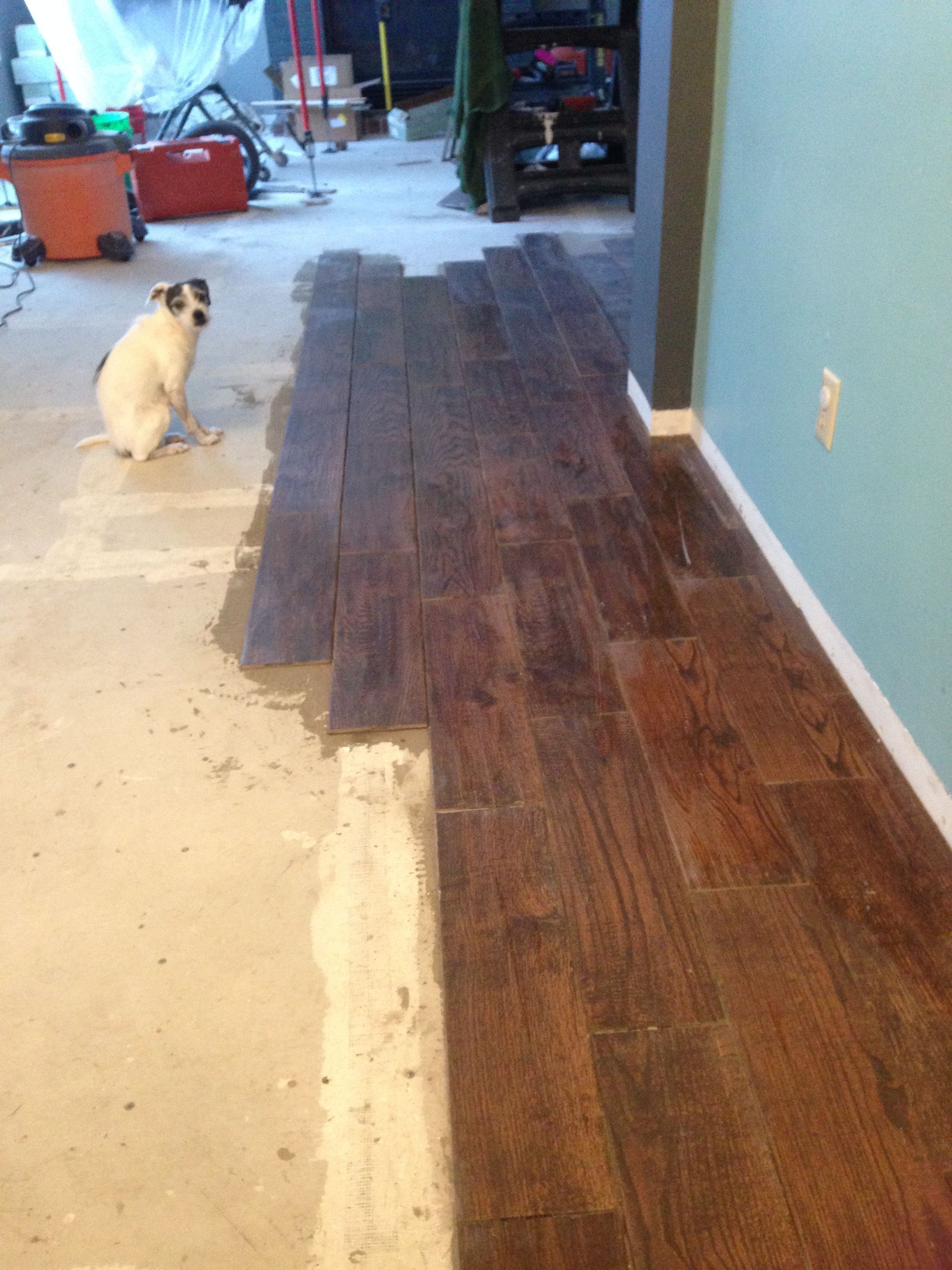 Ceramic Tile That Looks Like Hardwood Floor And Bruno