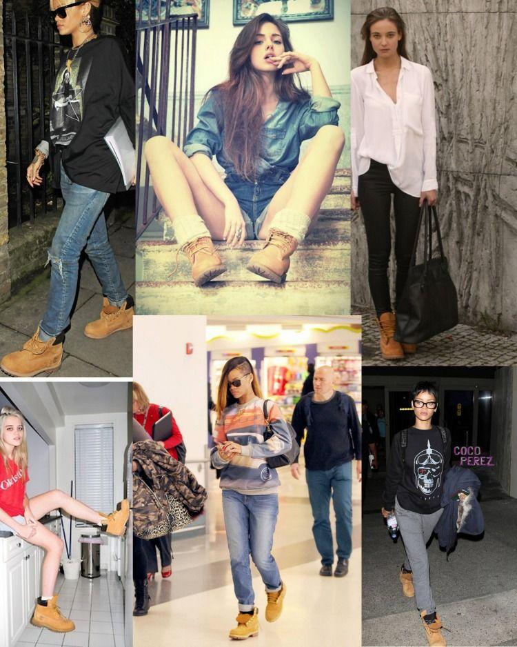 rihanna timberland heels for women