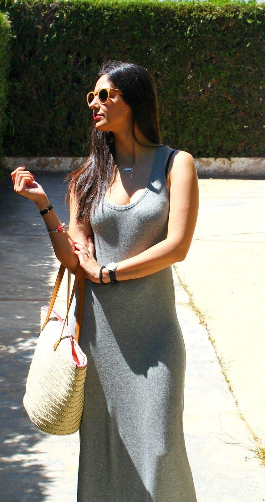 Vacaciones en Plutón: Long Dress #kissmylook