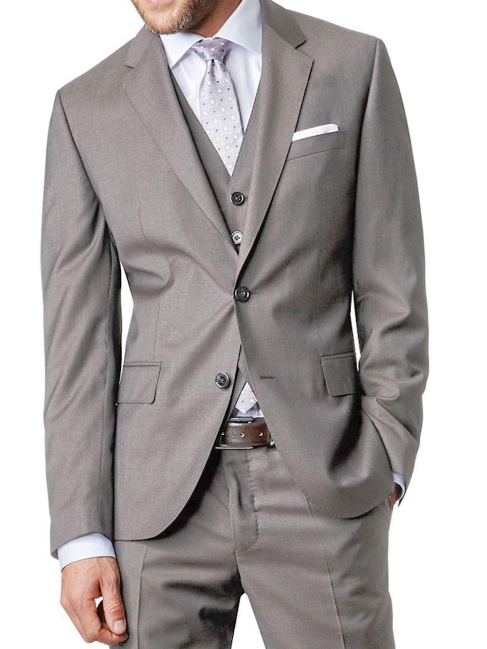 Costumes 3 Pieces gris perle à petit prix modèle Santoni 023318ab0d3