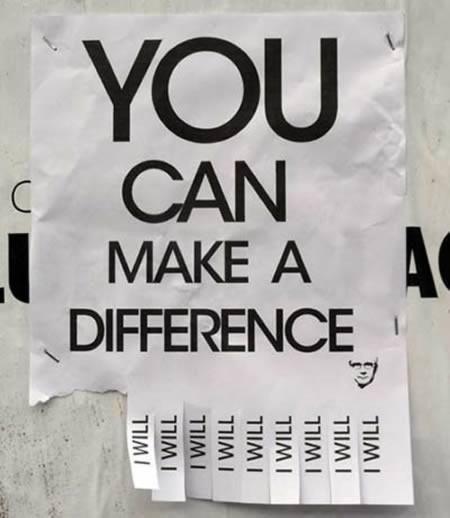 Het verschil - Buy Nothing New - www.buynothingnew.nl #bnnm13 #ontdenkwatjehebt