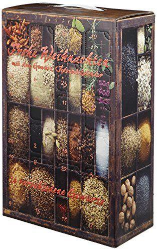 Gewürz Weihnachtskalender.Gewürz Adventskalender Mit Sonnentor Gewürzen 1er Pack 1 X 762g