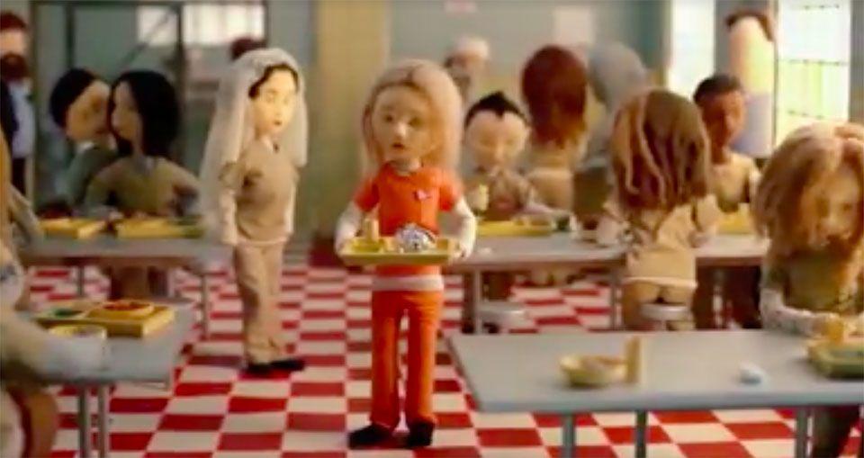 Netflix ha lanzado un vídeo animado en stop motion que resume a la perfección las cuatro temporadas de la serie estadounidense 'Orange is the New Black'.