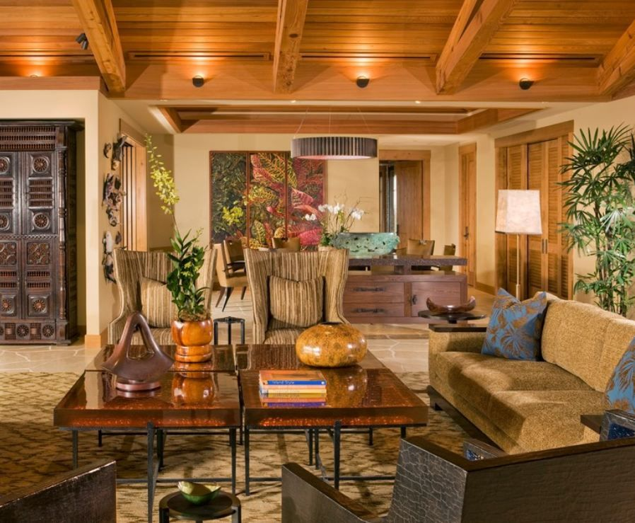Superb Vintage Hawaiian Interior Design | Lake Mary Orlando Interior Designer  Interior Decorating Firm Event .