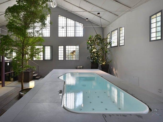 POOL FARAWAY by Kos by Zucchetti design Ludovica Roberto Palomba - whirlpool designs innen ausen
