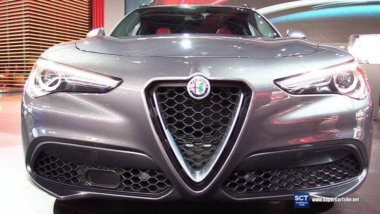 2018 Alfa Romeo Stelvio Q4 Exterior And Interior Walkaround 2018