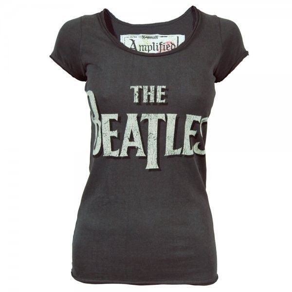 NEW OFFICIAL The Beatles Hey Jude Blue Ladies Womens T-Shirt Top