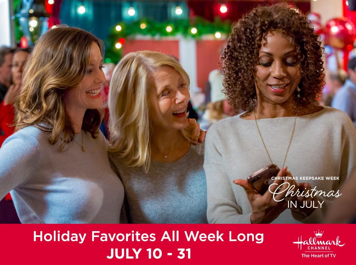 Open your heart for the last week of Christmas in July with a