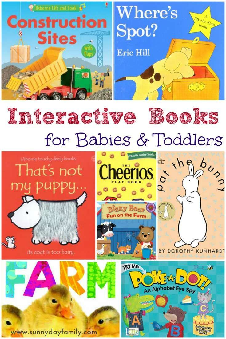 Favorite interactive board books for babies toddlers