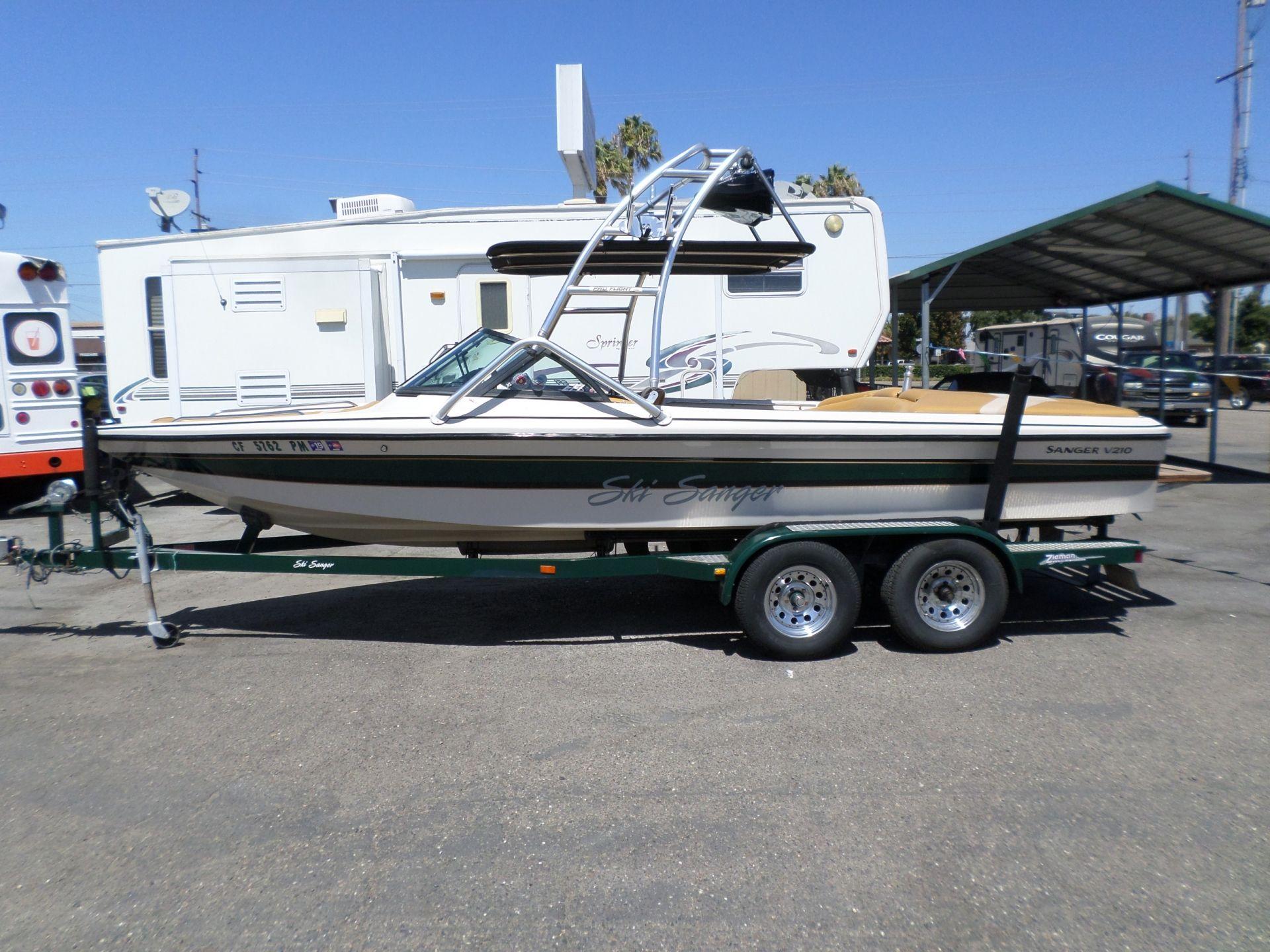 Boat For Sale 2000 Sanger V210 Ski Wakeboard Boat 21 In Lodi Stockton Ca Sanger Boats Boats For Sale Wakeboard Boats For Sale