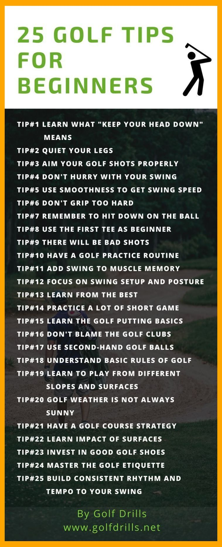 To know the best golf tips for beginners, check this