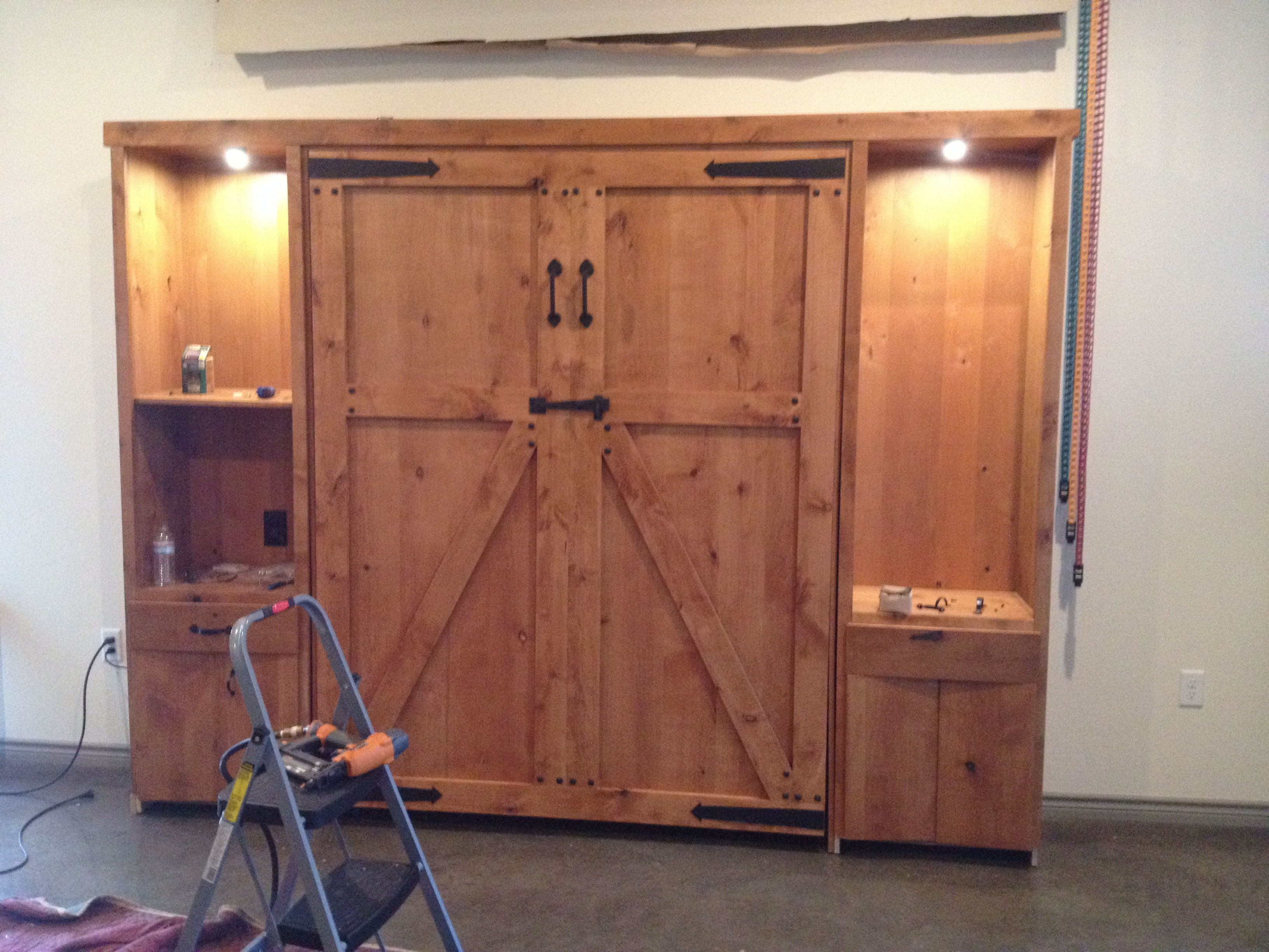Look At This One Being Stalled For The Loftin Family In Austin Texas Another Barn Door