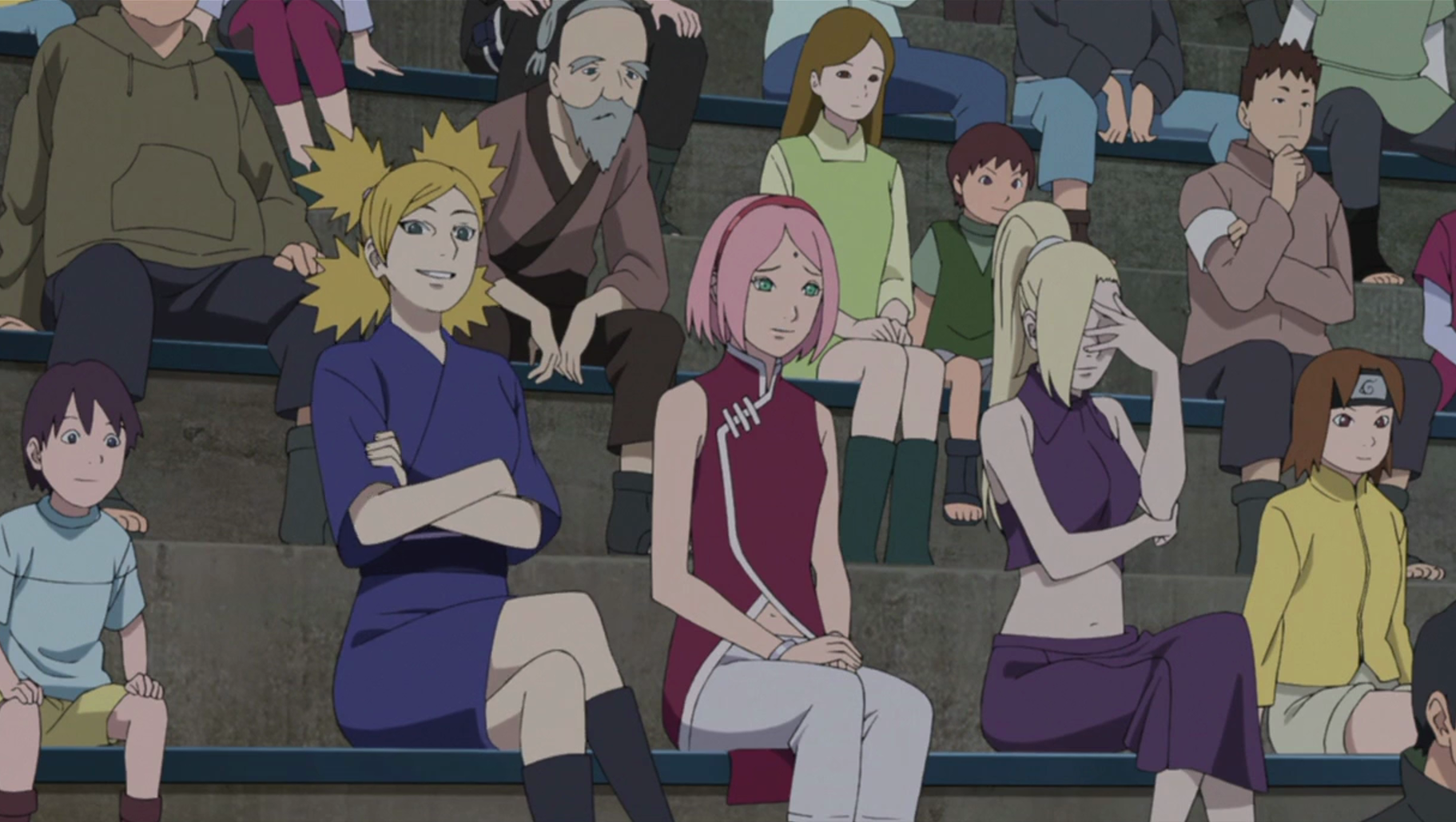 Naruto Tenten Baruto Movie Google Search Anime