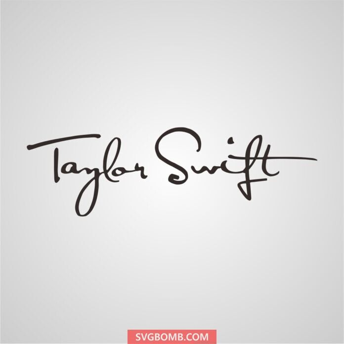 Download Taylor Swift Logo SVG File (With images) | Taylor swift ...