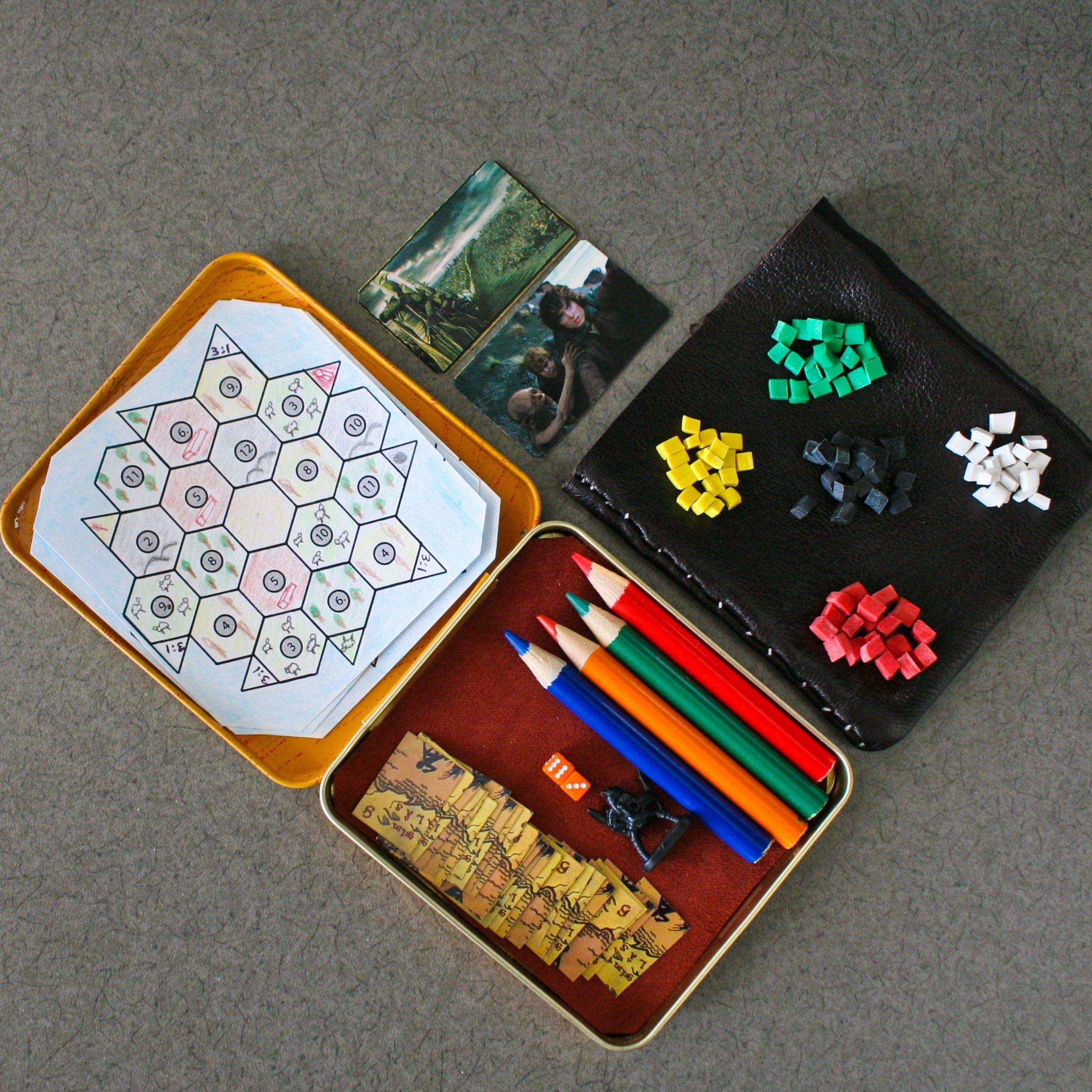 Mini Settlers of Catan (OC) Settlers of catan, Fun board