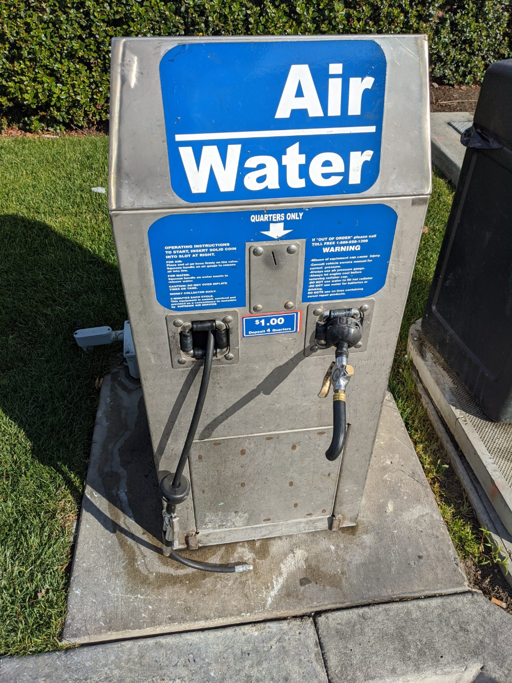 Costco アメリカでタイヤ空気圧チェック 空気入れ 無料でできます Aco Blog 空気圧 タイヤ ガソリンスタンド