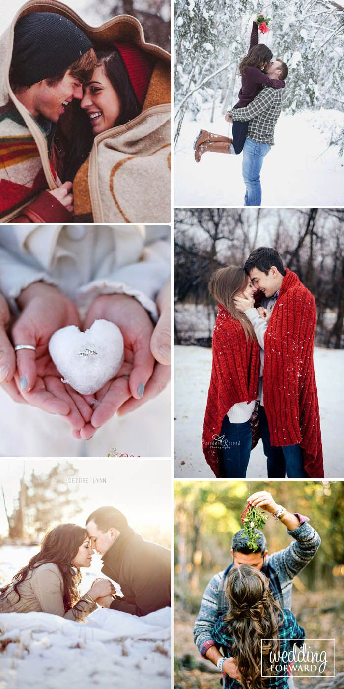 Photo of 24 Winter Engagement Photos To Warm Your Heart