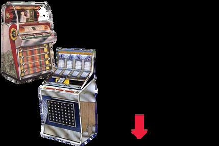 Seeburg Q100//Q160 Jukebox 4 Part Manual