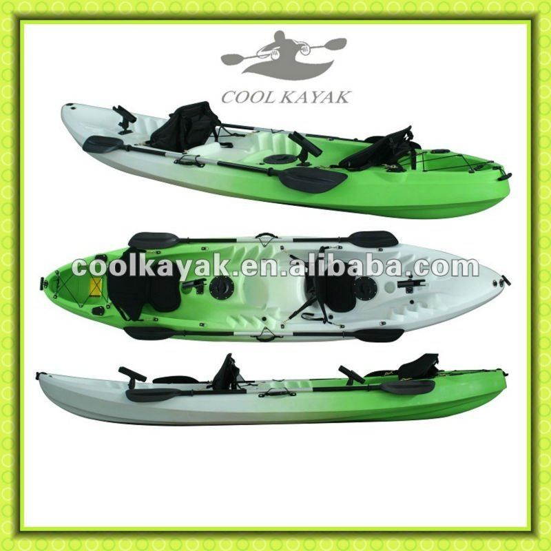 Fishing 2 person plastic kayaks kajak for sales from Cool ...