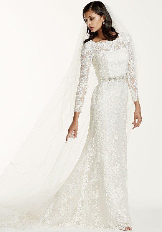 David\'s Bridal Galina Signature Style SWG685 Wedding Dress - The ...
