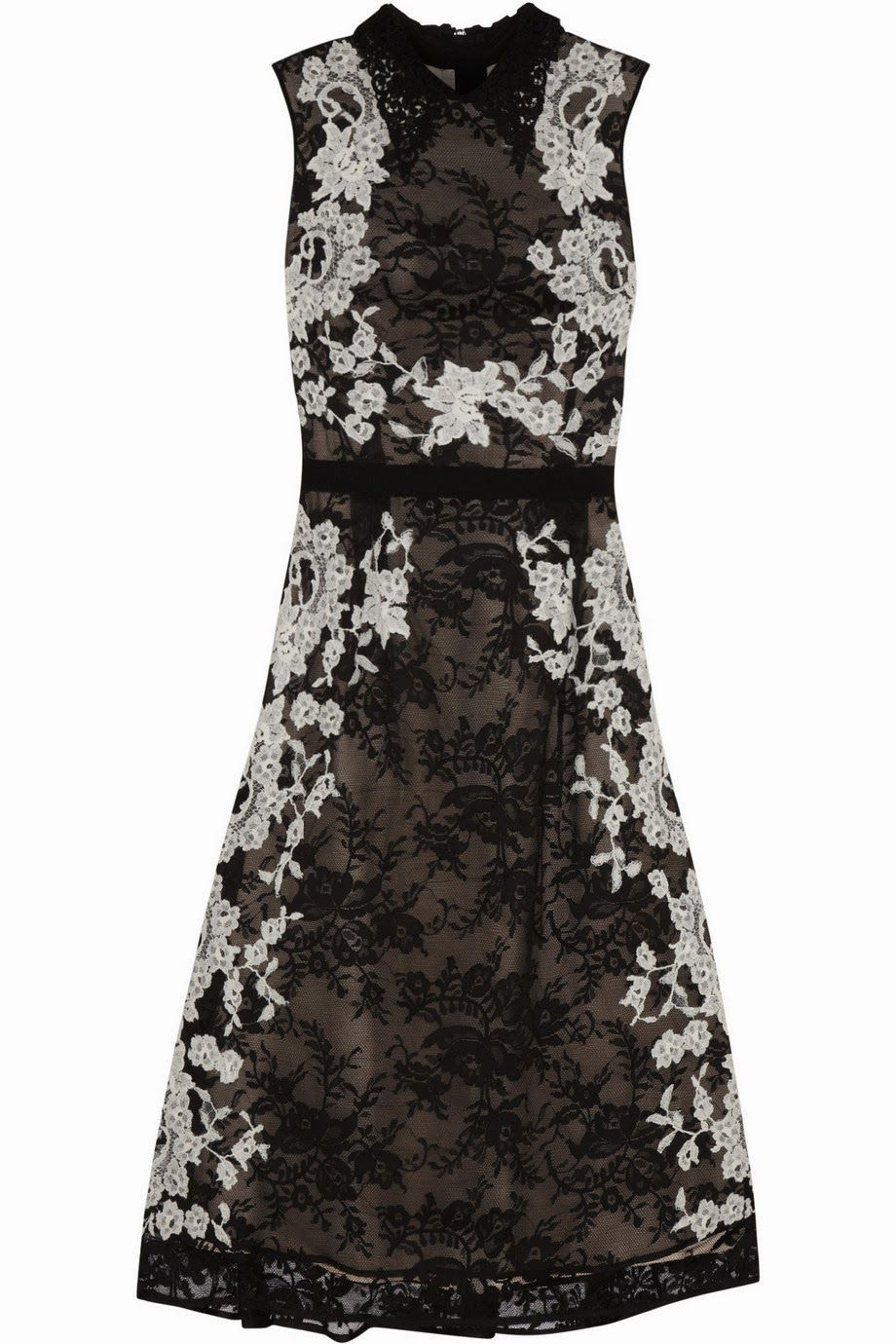 Togetherthetwo erdem kali lace collar dress art in fashion