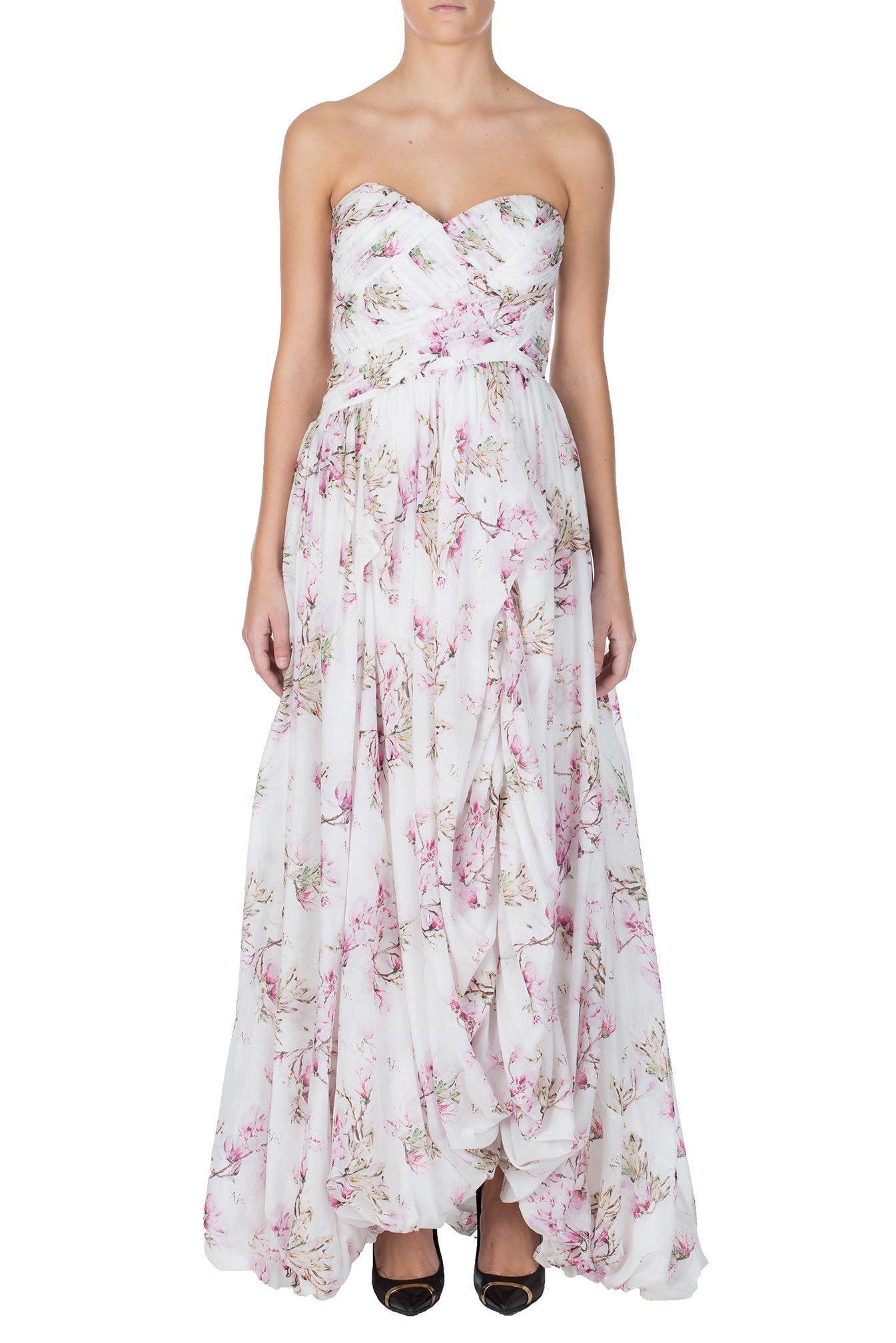 b9ddc8952cf Aje floral print silk maxi dress