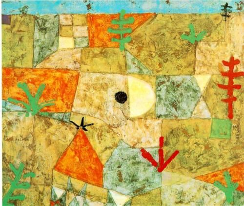 Paul Klee - Southern Gardens (1921)