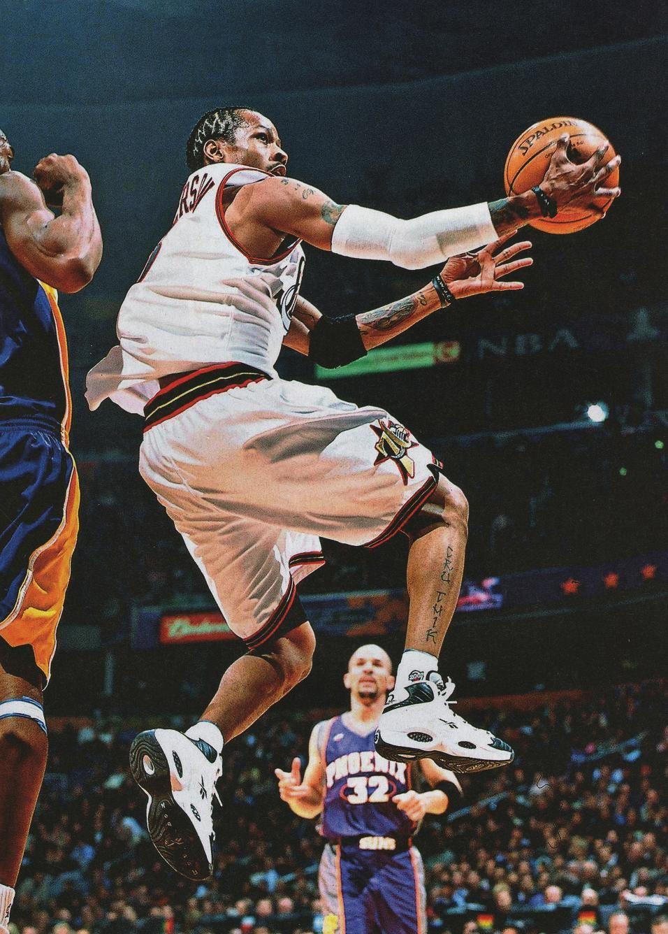Allen Iverson Nba Basketball Art Basketball Pictures Allen Iverson
