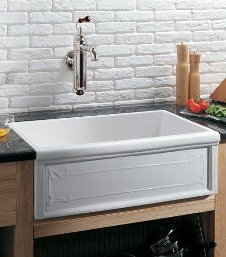 evier timbre d 39 office art nouveau 1 bac timbres d 39 offices pinterest farmhouse sink kitchen. Black Bedroom Furniture Sets. Home Design Ideas