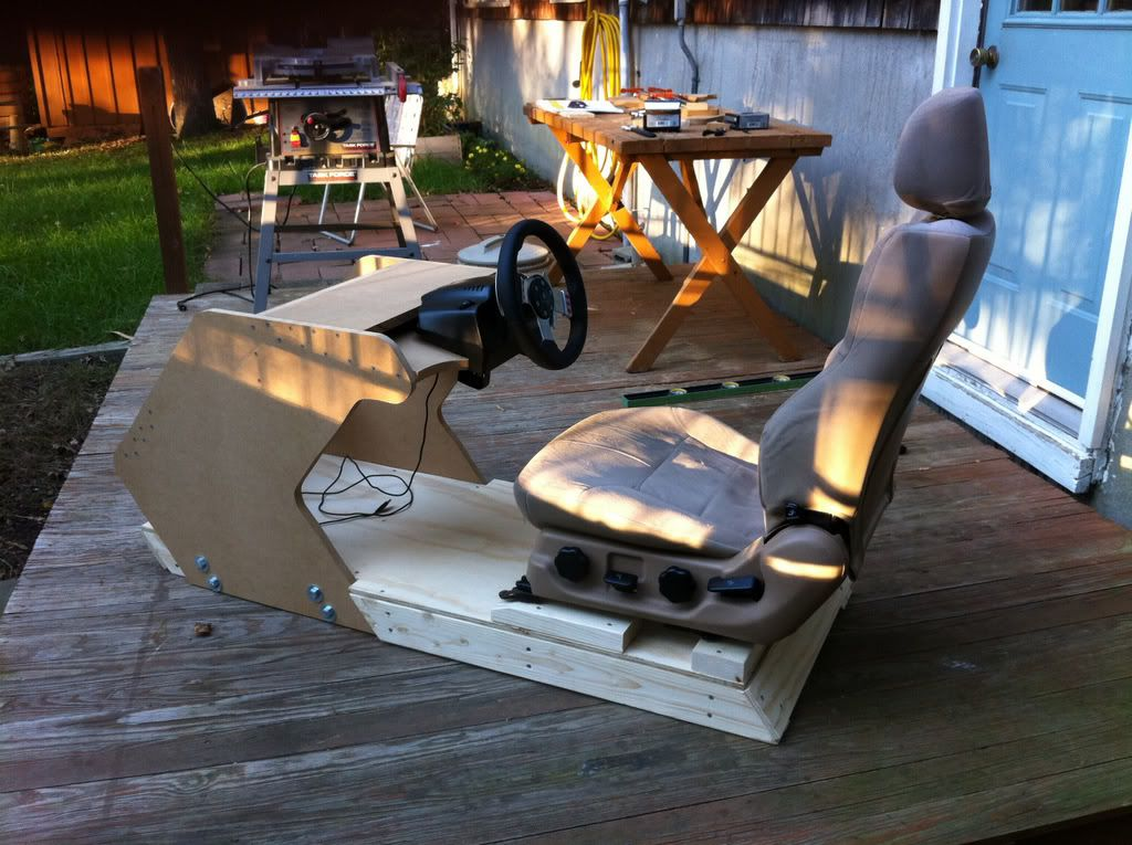Building A Video Game Racing Seat