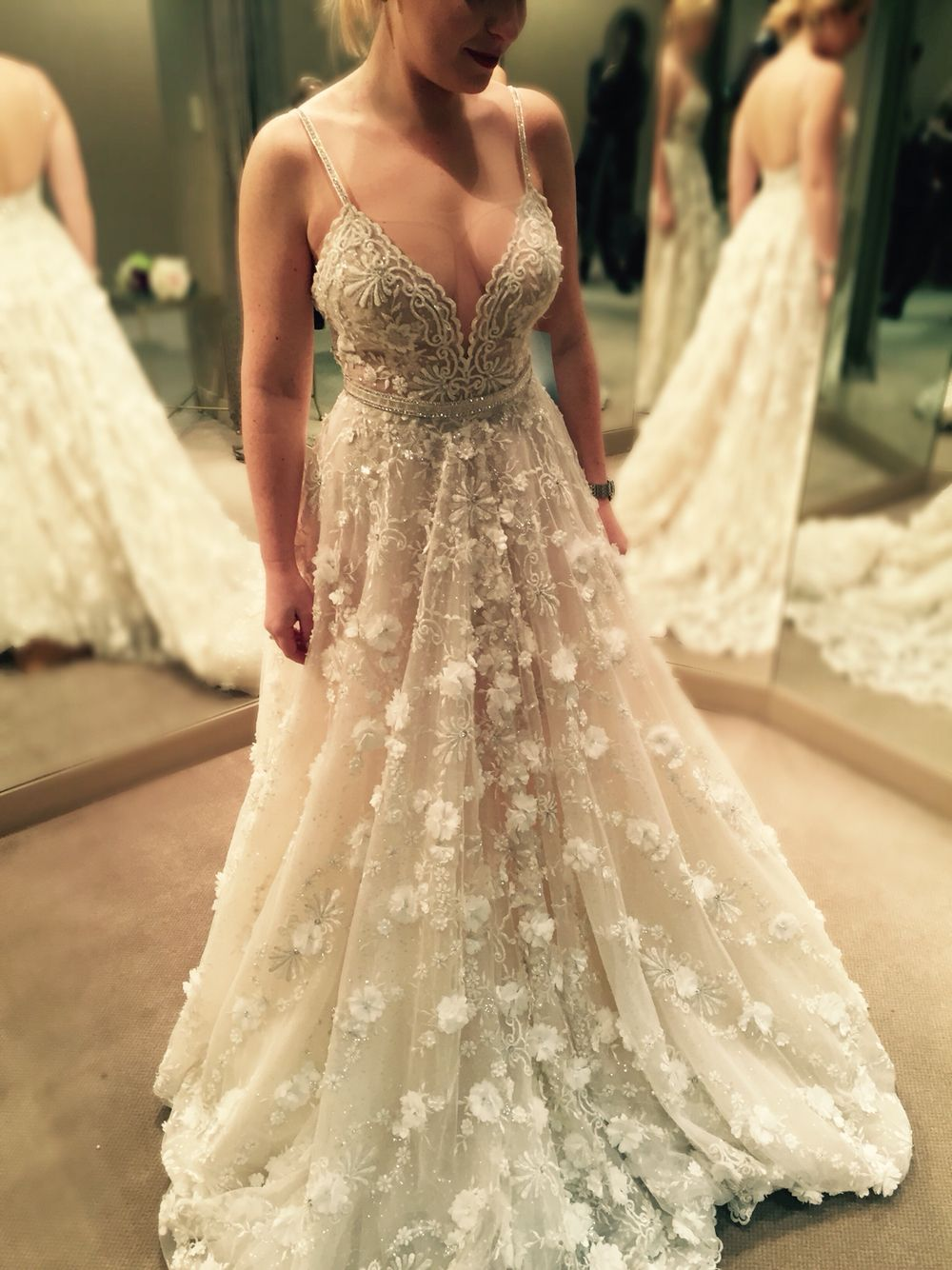 BERTA beauty from San Francisco - Bridal Galleria ❤ | BERTA Trunk ...