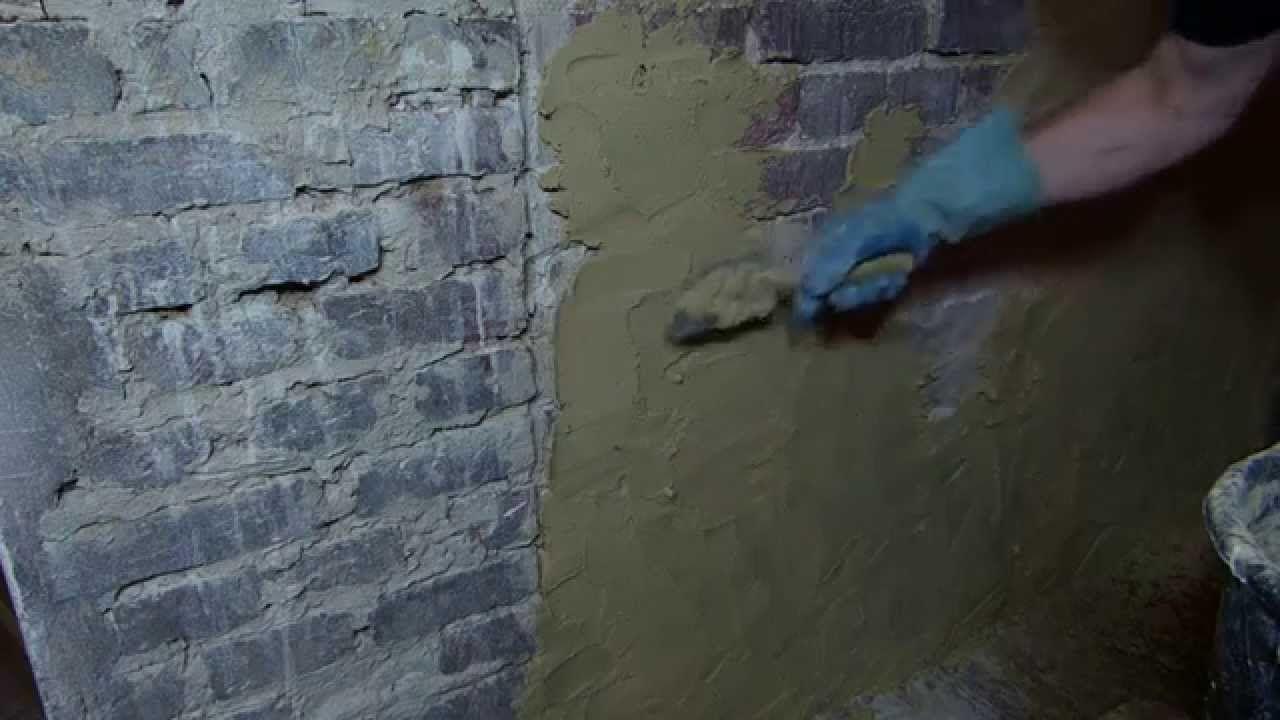 Verputzen im altbau kalkputz zweilagig innenputz sumpfkalkputz luft haus pinterest - Backsteinwand innen ...