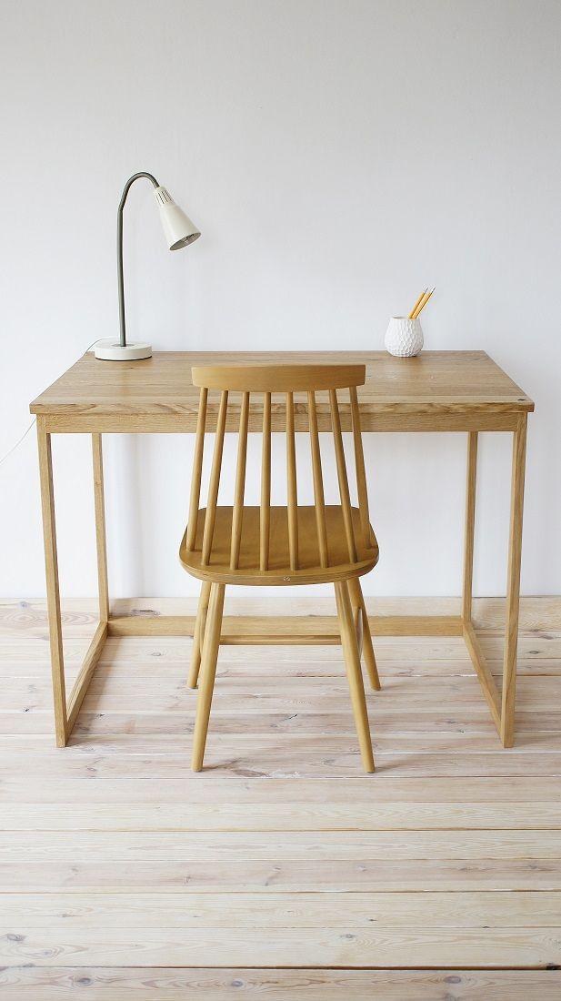 Schreibtischplatte holz  Esstisch, Industrial, Tisch, Holztisch, Lofttisch, Holz, massiv ...