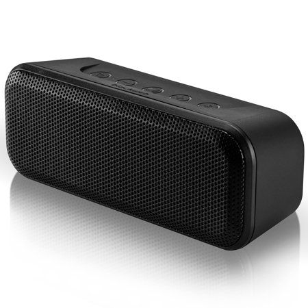 Blackweb Stereo Bluetooth Speaker Built In Microphone And