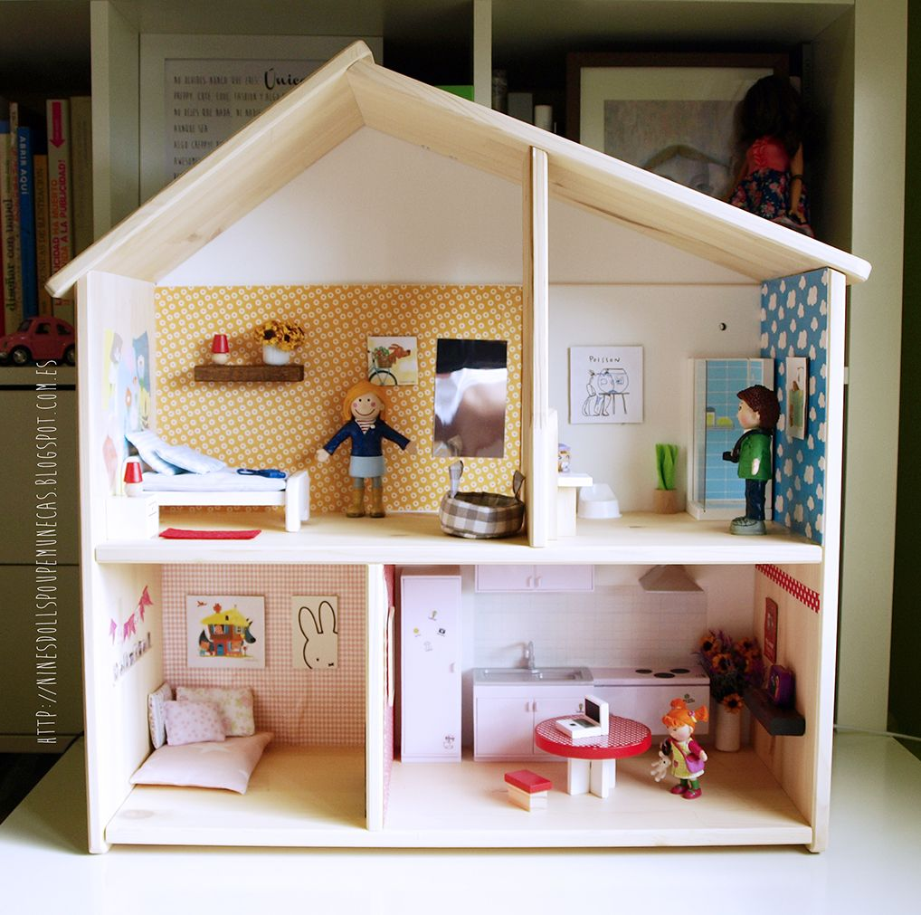 Ikea dollhouse flisat custom minimize ikea dollhouse for Ikea casa bambole