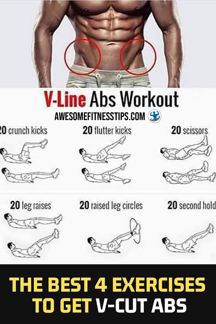 How to get the abdominal V | Ab workout men, Lower abs
