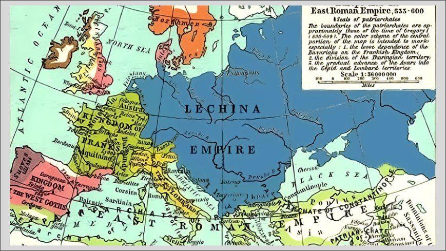 Polska Przed Rokiem 966 Imperium Stare Mapy I Historia
